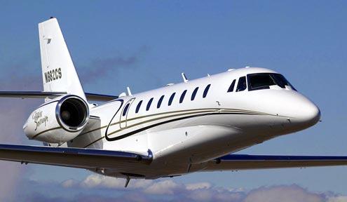 Plane Cessna CITATION-SOVEREIGN